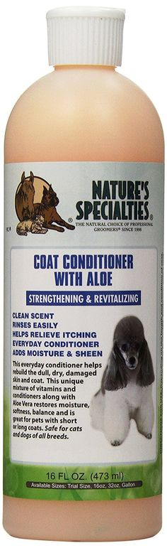 Nature's Specialties Coat Conditioner for Pets, 16-Ounce ** You can get additional details at the image link. (This is an affiliate link and I receive a commission for the sales)