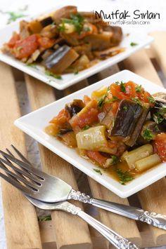 Zeytinyağlı Patlıcan Yemeği Tarifi | Mutfak Sırları