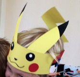 Verjaardagskroon Pokémon door Linda Bouterse.