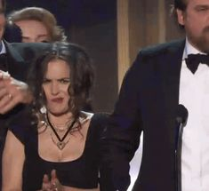 Winona Ryder Made These 22 Faces During A Speech At The SAG Awards
