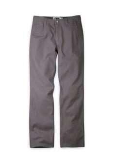 Mountain Khakis Blue Mens Original Mountain Pant Slim Fit