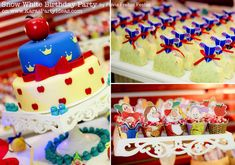 Cinderella Birthday Cake Ideas | This adorable SNOW WHITE THEMED 4TH BIRTHDAY PARTY was submitted by ...