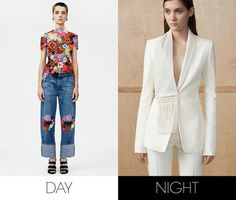 Editors Pick Their Favorite Looks from Resort 2015 – Vogue - Chioma Nnadi, Fashion News Director - Day: Christopher Kane  Night: Altuzarra