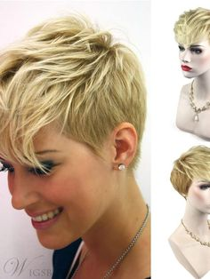 Today we have the most stylish 86 Cute Short Pixie Haircuts. We claim that you have never seen such elegant and eye-catching short hairstyles before. Pixie haircut, of course, offers a lot of options for the hair of the ladies'… Continue Reading → Thin Hair Cuts, Short Thin Hair, Short Hair Styles, Long Hair, Pixie Bob Haircut, Short Pixie Haircuts, Bob Haircuts, Natural Hair Conditioner, Hair Care Oil