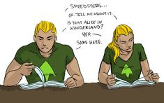 Wow.... umm, should I be afraid of crazy queens in my future? Wait! I just realized something! Oliver's(aka Green arrow's) last name is queen!!