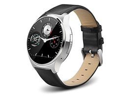 OUKITEL A29 Anti-lost Smart watch Phone MTK2502 Bluetooth 4.0 IP53 Heart Rate Monitor FM Remote Capture (Silver). Note: This watch phone will only work with GSM networks: GSM850/900/1800/1900MHz. Unlocked for Worldwide use. Please ensure local area network is compatible. Dialer / Bluetooth phone call Unlike most smart watches, the A29 can independently make / receive phone calls with its own SIM card. The 1.22 inch round HD display delivers stunning clarity and color. Premium stainless…