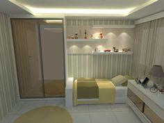 Suíte 01 - Opção Hóspedes - Apartamento Jovem Casal