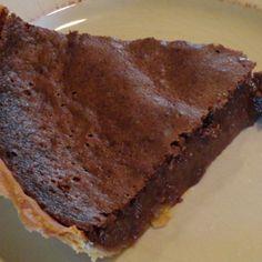 Chocolate Buttermilk Pie Recipe | Just A Pinch Recipes