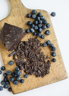 RECIPE: Blueberry Chocolate Chunk Vegan Ice Cream