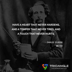 #CharlesDickens #Writer #quotesoftheday #quotes #inspirationalquotes #lifequotes #motivation #quotesforlife #morningquotes https://www.trioangle.com/airbnb-clone/ https://www.trioangle.com/uber-clone/