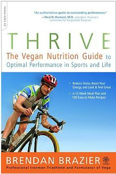 Vegan or not, this book has great principles for optimal health in sports and life!  Looking forward to Thrive FITNESS next!