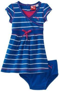 Puma - Kids Baby-girls Infant Jersey Stripe Dress And Diaper Set, Blue, 24 Months PUMA, http://www.amazon.com/dp/B006PF0IO2/ref=cm_sw_r_pi_dp_WXfSqb1Y5411D