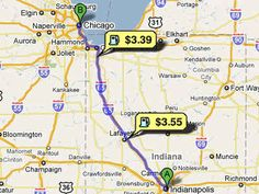 Find the lowest gas prices along the way. 29 Simple Road Trip Hacks You Need To Know Car Travel, Travel Tips, Travel Destinations, Travel Ideas, Travel Inspiration, Cheap Gas, Road Trip Hacks, Road Trippin, Ways To Save Money