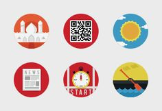 Buy this iconset on Iconfinder.com      - Style: Flat     - Categories: Mixed