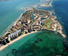 La Manga del Mar Menor. Murcia. Spain.