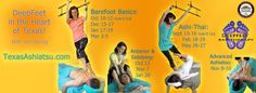 http;//www.TexasAshiatsu.com Texas Ashiatsu Training schedule for the next few months.