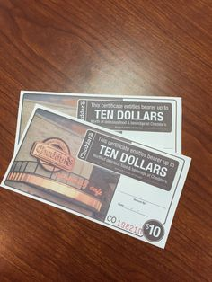 Cheddar's Gift Cards--Valued at $20.00--Bidding starts at $5.00