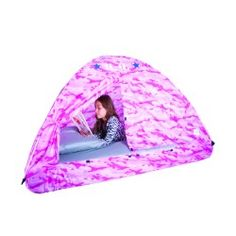 Pink Camo Bed Tent. Only $59.99!  sc 1 st  Pinterest & Lady Bug Bed Tent- $59.99! | For The Bedroom | Pinterest | Lady ...
