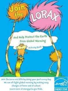 FREE Lorax Printable Activity Book for Kids