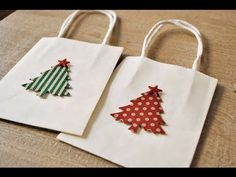 Articles similaires à holiday gift bags christmas gift bags christmas tree gift bags white bags with trees by oscar & ollie sur Etsy Paper Christmas Ornaments, Christmas Tree With Gifts, Christmas Gift Bags, Christmas Gift Wrapping, Holiday Gifts, Christmas Diy, Paper Gift Bags, Paper Gifts, Decorated Gift Bags