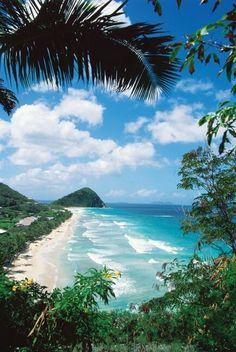 Long Bay Beach, Tortola, British Virgin Islands.