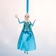 Elsa Sketchbook Ornament - Personalizable | Disney Store