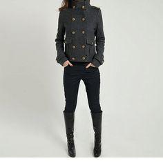 Hiver manteau laine manteau Cachemire manteau manteau par RenzRags