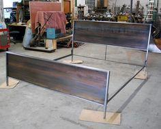 Panel de acero cama  King Size