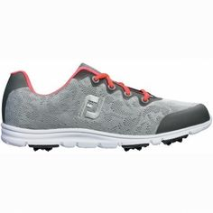 FootJoy Enjoy Golf Shoes 2016 Ladies Grey Mist Medium 75 >>> Check out the image by visiting the link. (This is an affiliate link) Spikeless Golf Shoes, Womens Golf Shoes, Shoes Women, Golf Sweaters, Golf Shirts, Pullover Rain Jacket, Golf Now, Shoe Manufacturers, Shoes 2016