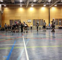 Had a great day with @centralcityrollergirls playing the formidable (the French pronunciation) @parisrollergirls. Things didn't quite go to plan for me & I fouled out for the first time ever! But I also think I did some cool stuff too as did my team. For now we'll focus on the good stuff & then tomorrow think about what we need to work on. Very proud of these people & happy to have played against such a great team.  . . . . . . . . .  #CCR #parisrollergirls #rollerderby #wftda #womeninsport…
