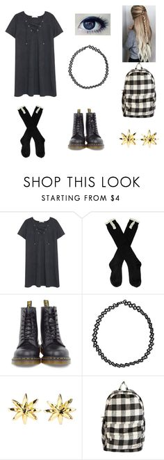 """""""1990's"""" by daydreamerbedsleeper ❤ liked on Polyvore featuring MANGO, Dr. Martens, GUSTA, Boohoo, Christian Lacroix and Billabong"""
