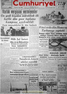 cumhuriyet gazetesi 22 ikinci kanun 1943