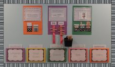 Interactive Bulletin Board Idea