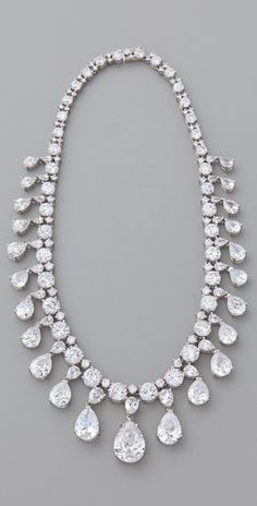 Kenneth Jay Lane - Vanderbilt Necklace.  OH MY Lord!