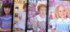 Smocking & Embroidery Magazine Bulk Sale 4 books No.s 39,40,45,49 inc. patterns