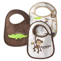 JUST ONE YOU  Made by Carter's Green Green Alligator3pk Bib. Precio: $8.99