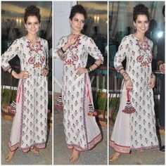 Yay or Nay : Kangana Ranaut in Vrisa by Rahul and Shikha