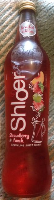 FOODSTUFF FINDS: Shloer - Strawberry Punch [By @Cinabar]