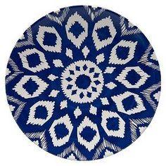 Dinner Plate - Blue/White : Target