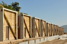 Image 1 of 20 from gallery of Ruca Dwellings / Undurraga Devés Arquitectos. Photograph by Guy Wenborne Social Housing Architecture, Eco Architecture, Architecture Details, Wood Images, Countries Around The World, Eco Friendly House, Affordable Housing, Sustainable Design, Prefab