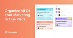 Get the marketing software you need from the CoSchedule Marketing Suite. Marketing Automation, Marketing Software, Social Marketing, Marketing Tools, Digital Marketing, Calendar Software, Marketing Calendar, Social Campaign, Brand Advertising