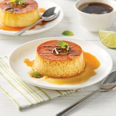 Flan mexicain - Desserts - Recettes 5-15 - Recettes express 5/15 - Pratico Pratique Flan Dessert, Mexican Food Recipes, French Toast, Cheesecake, Pudding, Grands Explorateurs, Breakfast, Jello, Mousse