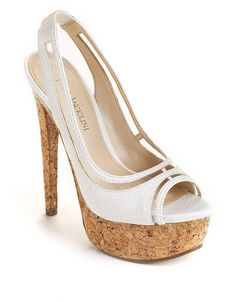 Amure Slingback Platform Pumps | Lord and Taylor