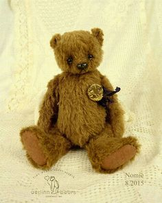 Reserved Nomi OOAK Cinnamon Brown Alpaca Artist door aerlinnbears