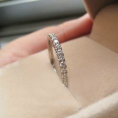 Diamond Eternity Ring  Full Eternity Wedding Ring by stevejewelry, $395.00