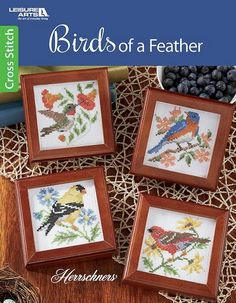 Birds of a Feather cross stitch booklet review