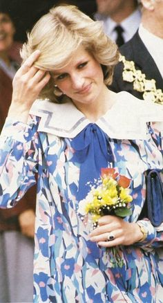 On Saturday May 23rd in 1984, Princess Diana made a second visit to the Albany Trust Community Centre in Deptford, in South-East-London. Her visit as President of the Albany Trust, was to attend the 'Deptford Artists Group Show', featuring an exhibition of artists work and posters.