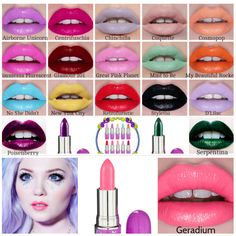Lime Crime Lipstick Swatches | Beauty tips, swatches, tutorials ...