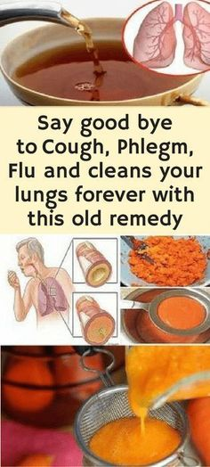 Simple Homemade Syrup Cures Cough And Removes Phlegm From The Lungs