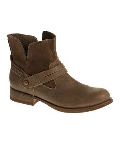 Look at this CAT Footwear Tuscan Brown Drew Leather Boot on #zulily today!
